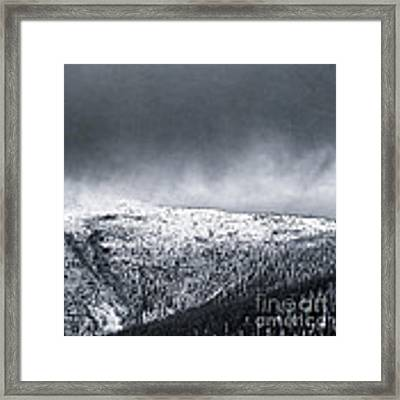Land Shapes 2 Framed Print