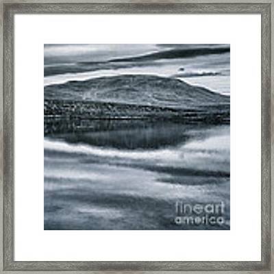 Land Shapes 31 Framed Print by Priska Wettstein