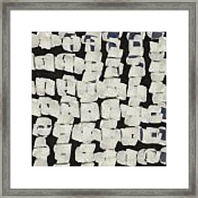 Laura Series Making Marks 545d1 Framed Print