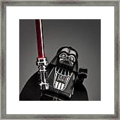 Lord Vader Framed Print