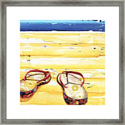 Lost At Sea Framed Print by Danny Phillips