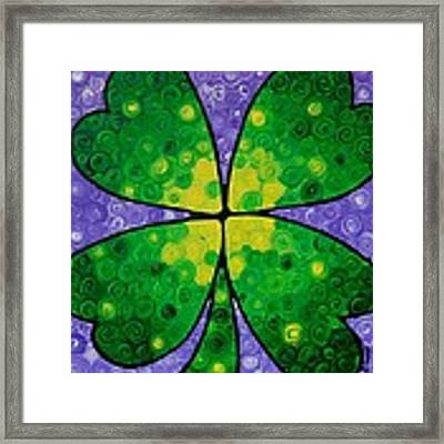 Lucky One Framed Print by Sharon Cummings