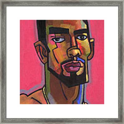 Marco With Gold Chain Framed Print by Douglas Simonson