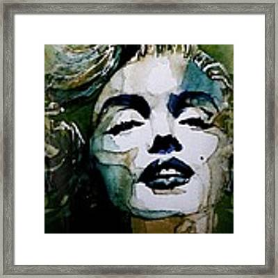 Marilyn No10 Framed Print by Paul Lovering