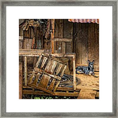Master's Home Framed Print by Nancy Strahinic