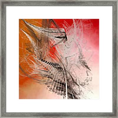 Mercury In Aries - Cardinal Fire Framed Print by Menega Sabidussi