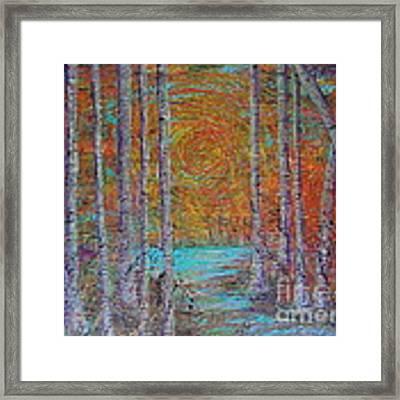 Minnesota Sunset Framed Print by Jacqueline Athmann