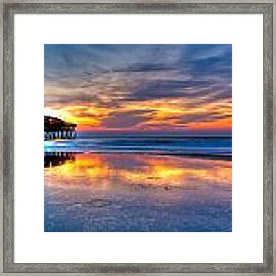 Morning Reflections Framed Print by Francis Trudeau