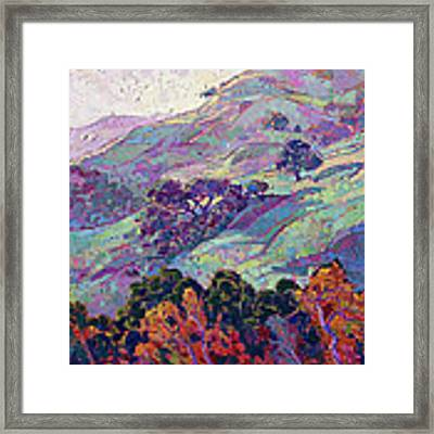 Morning Splendor  Framed Print by Erin Hanson