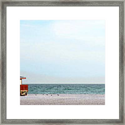 Morning Walk By Sharon Cummings Framed Print by Sharon Cummings