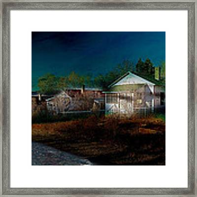 My Dream House Framed Print by Gunter Nezhoda