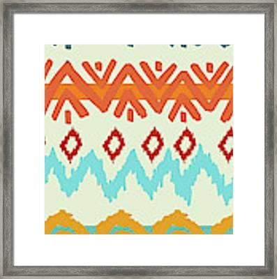 Navajo Missoni I Framed Print