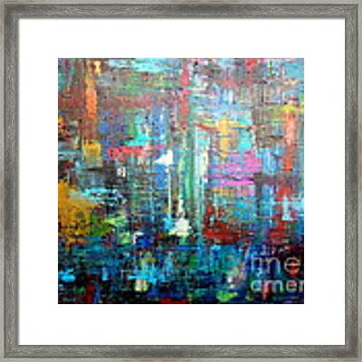 No. 1230 Framed Print by Jacqueline Athmann