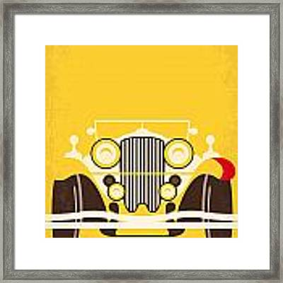 No206 My The Great Gatsby Minimal Movie Poster Framed Print