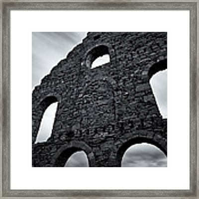 Old Slate Mill Framed Print by Dave Bowman