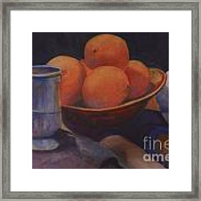 Oranges Framed Print by Genevieve Brown