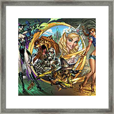 Oz 01a Framed Print by Zenescope Entertainment