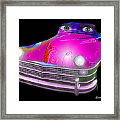 Pin Up Cars - #1 Framed Print by Gunter Nezhoda
