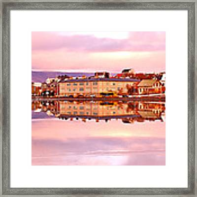 Pink City Framed Print by HweeYen Ong
