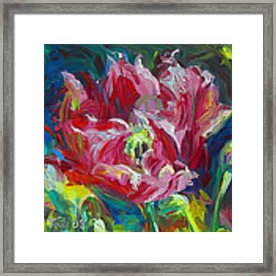 Poppy's Secret  Framed Print by Talya Johnson