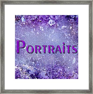 Portraits Framed Print by Donna Proctor