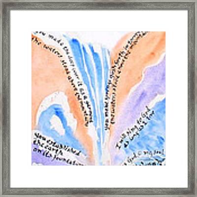 Psalm 104 Framed Print by Linda Feinberg