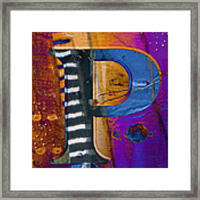 Purple Infusion Framed Print