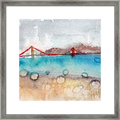 Rainy Day In San Francisco  Framed Print