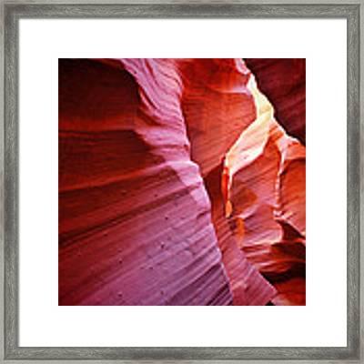 Rattlesnake Canyon - Arizona Framed Print by Gregory Ballos