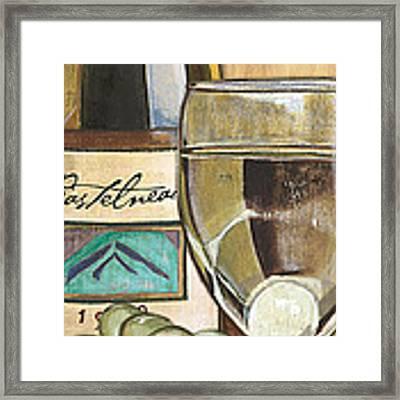 Riesling Framed Print by Debbie DeWitt