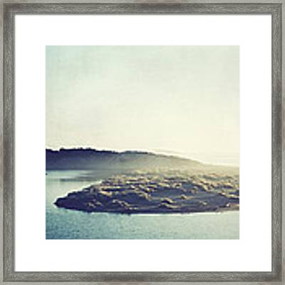 River Ans Sea Framed Print