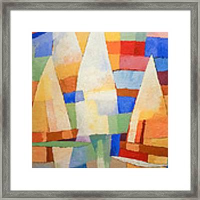 Sea Of Colors Framed Print by Lutz Baar