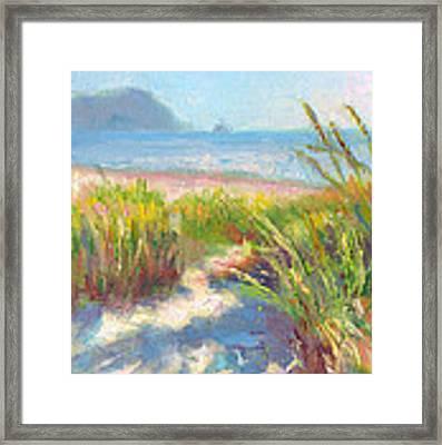 Seaside Afternoon Framed Print by Talya Johnson