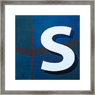 Seaworthy S Framed Print