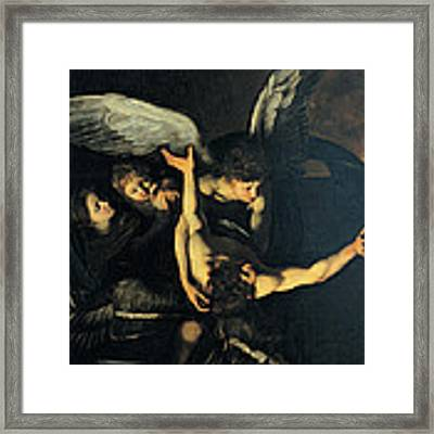 Seven Works Of Mercy Framed Print