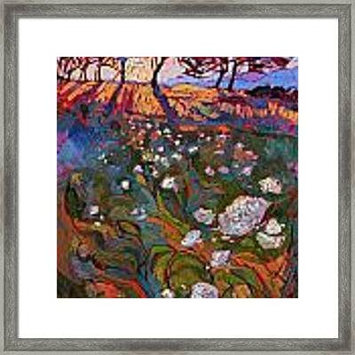 Shadow Bloom Framed Print by Erin Hanson
