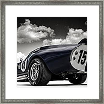 Shelby Daytona Framed Print by Douglas Pittman