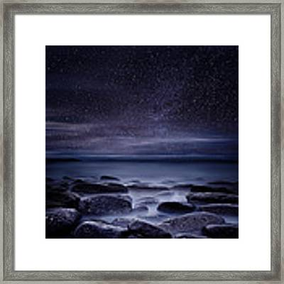 Shining In Darkness Framed Print by Jorge Maia