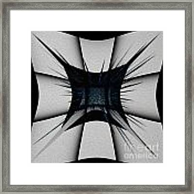 Silver Craft Framed Print by Mihaela Stancu