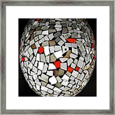 Silver Egg Framed Print by Eleni Mac Synodinos