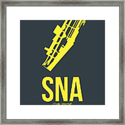 Sna Orange County Airport Poster 3 Framed Print