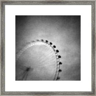 Spinning Round Framed Print