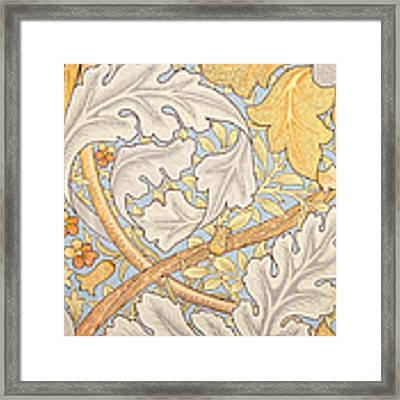 St James Wallpaper Design Framed Print