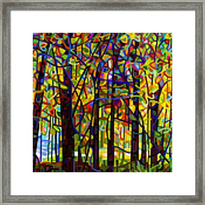Standing Room Only Framed Print by Mandy Budan
