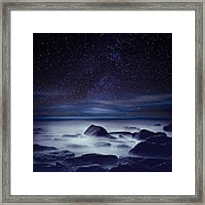 Starry Night Framed Print by Jorge Maia