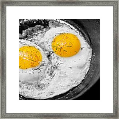 Sunny Side Up Framed Print by Gunter Nezhoda