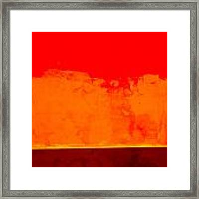 Sunstorm Framed Print