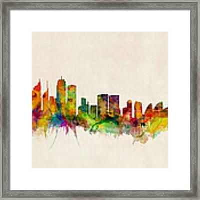Sydney Skyline Framed Print