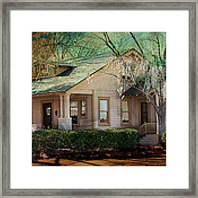 The Beckley House Framed Print by Gunter Nezhoda
