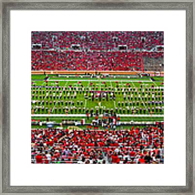 The Going Band From Raiderland Framed Print by Mae Wertz